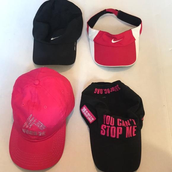 ... Nike Accessories Lot Of 4 Running Gym Women Hats Reebok Poshmark price  reduced 6ba23 d21aa ... 7c5568a4132c